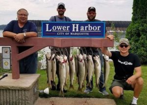 American Heroes with Lake Trout